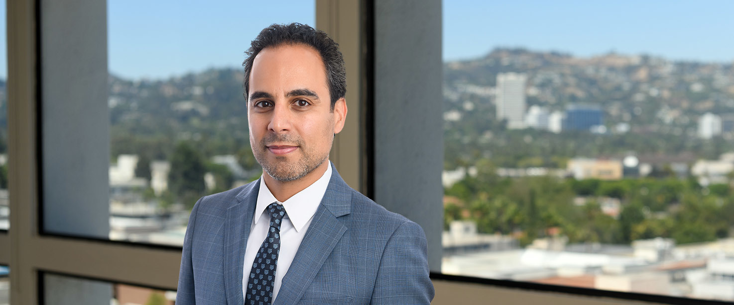 Elliot Kermani, Ervin Cohen & Jessup LLP Photo