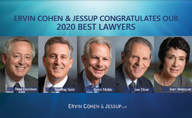 Ervin Cohen & Jessup's Davidson, Gold, Moldo, Silver and Velazquez Selected for Inclusion in The Best Lawyers in America for 2020